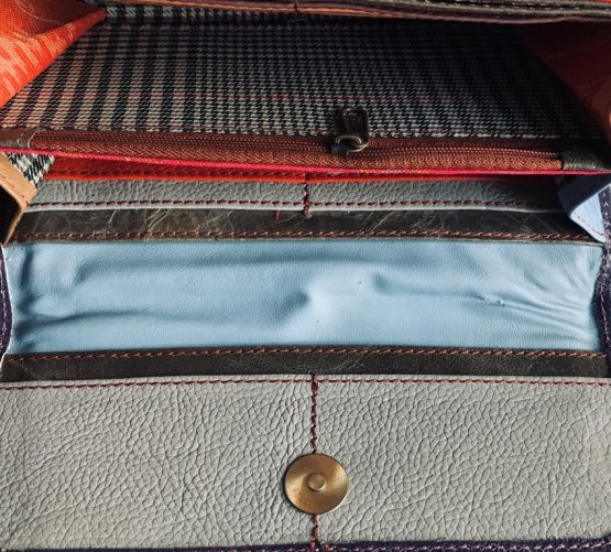Soruka Large Animal Print Leather Wallet