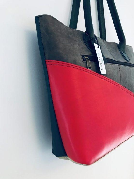 Soruka Citti Leather Shopper