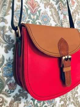 Soruka Merriti Leather Shoulder Bag