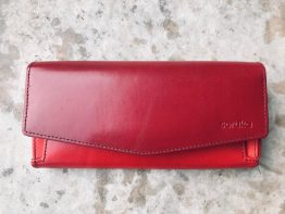 Soruka Letter Large Leather Wallet