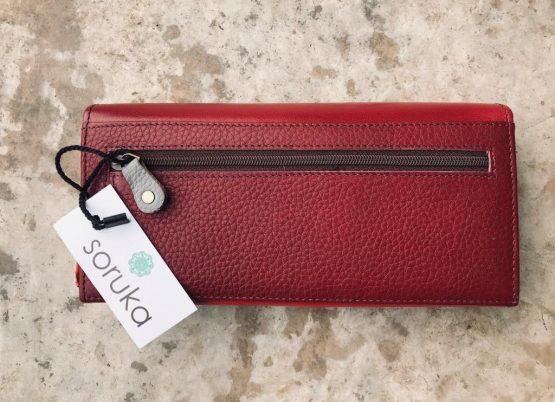 Soruka Letter Large Leather Wallet