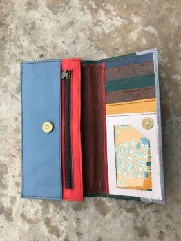 Soruka Large Leather Wallet