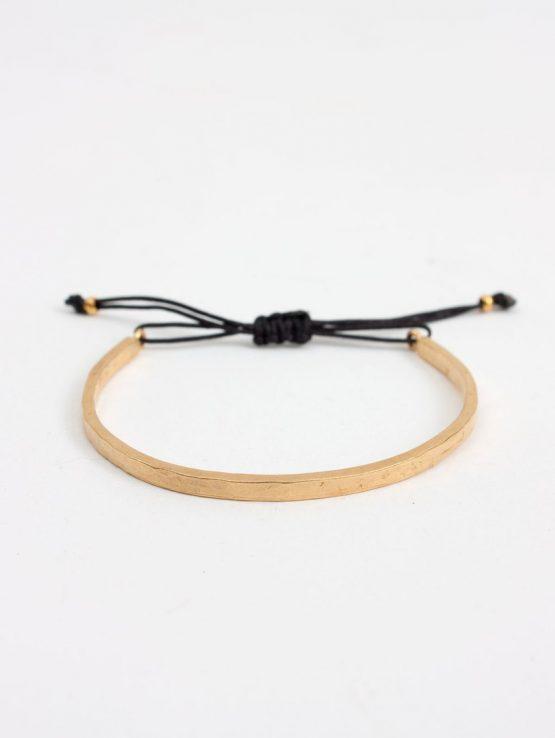 Bohemia Gold Celeste Bracelet Black