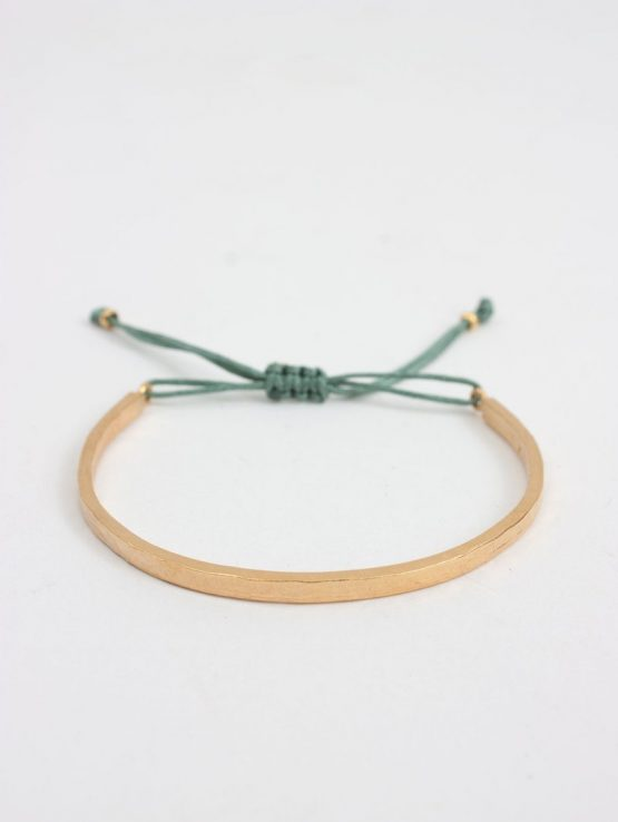 Bohemia Gold Celeste Bracelet Sage