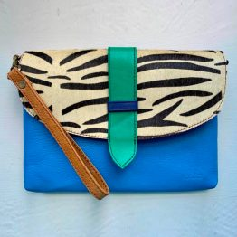 Soruka Saddle Leather Clutch