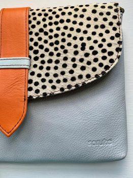 Soruka Saddle Leather Clutch