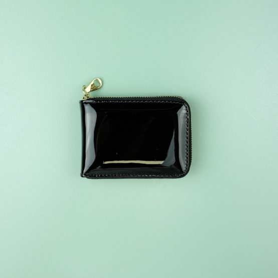 Kyra Kenja Patent Zip Wallet