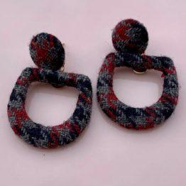 Kyra Kenja Fabric Earring