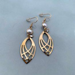 Kyra Kenja Gold Earring