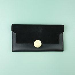 Kyra Kenja Gold Clasp Wallet
