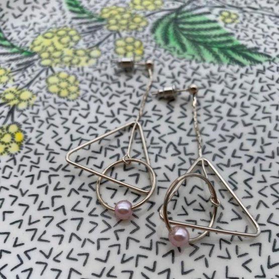 Kyra Kenja Silver Earrings
